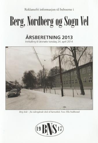 Årsberetning 2013