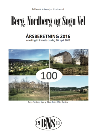 BNS Aarsrapport 2016
